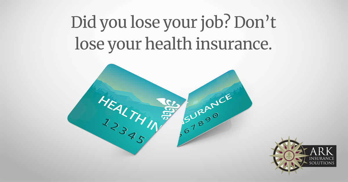 Don't lose your health insurance.